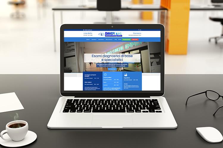 Illustrazione sito web Emmepilab roma