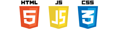 HTML5 CSS3 Javascript Logo