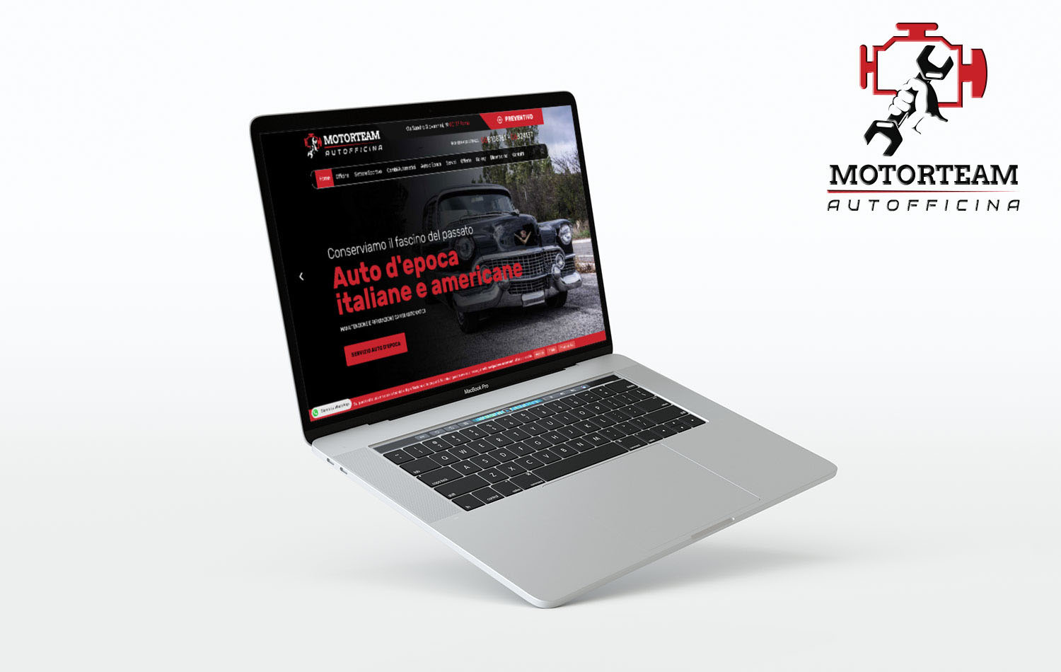 Mockup Motorteam Roma PC