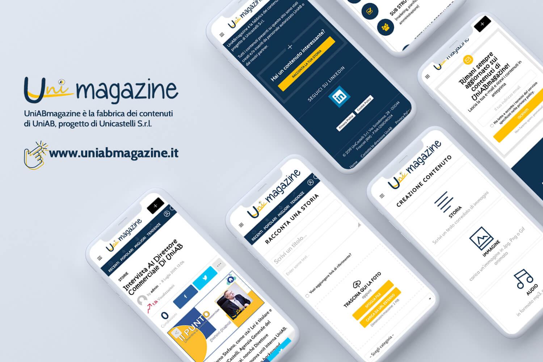 Mockup UniAB Magazine