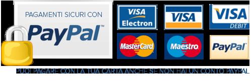 PayPal pagamento a rate del sito web